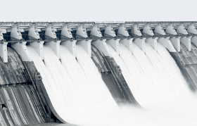 Cutoff water canal
