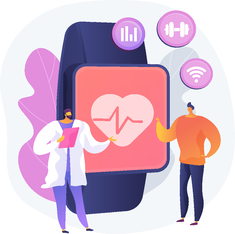 Fitness Tracker Wearable Device for Healthcare