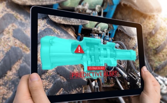 Tablet with Predictive Maintenance Application
