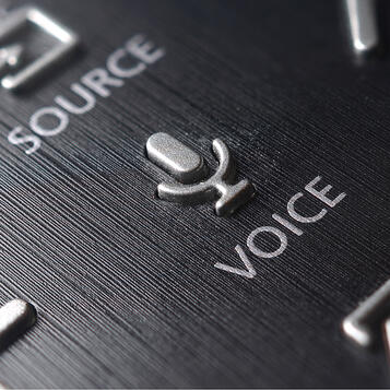 voice activation button on a remote controller