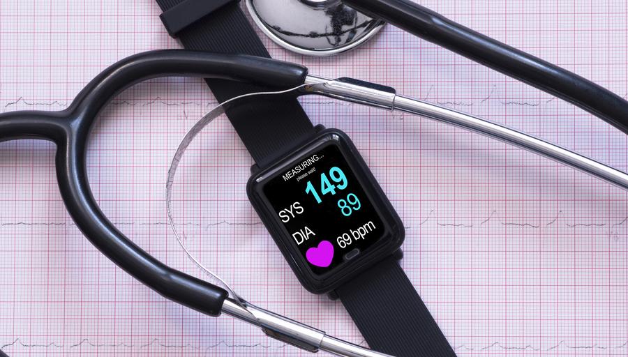 Blood Pressure Monitoring Smartwatch