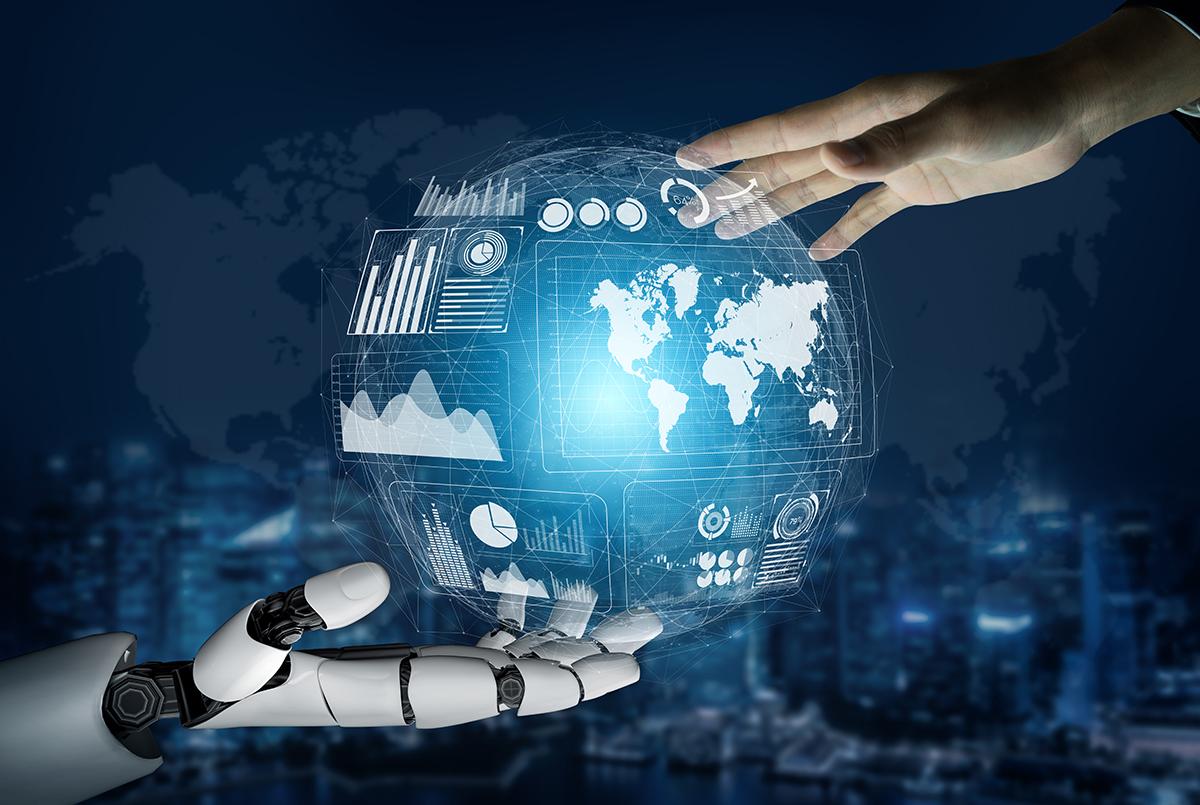 Futuristic Robot Technology Development