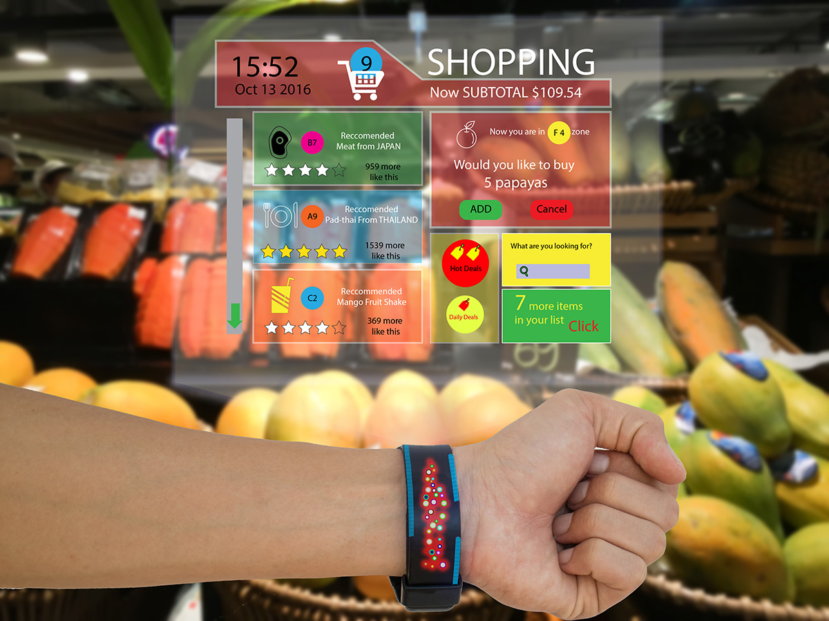 Smart IoT Devices for Retail