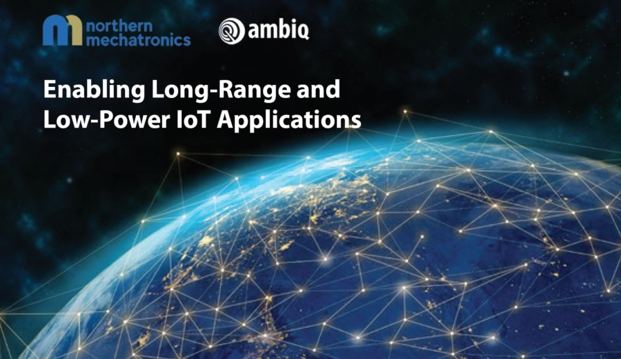 Enabling Long Range and Low Power IoT Applications