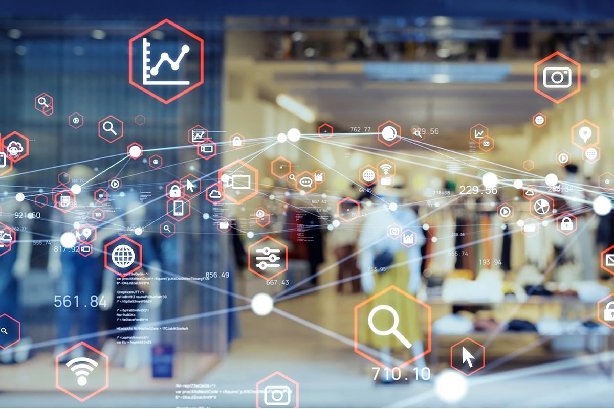 Retail Technology Concept
