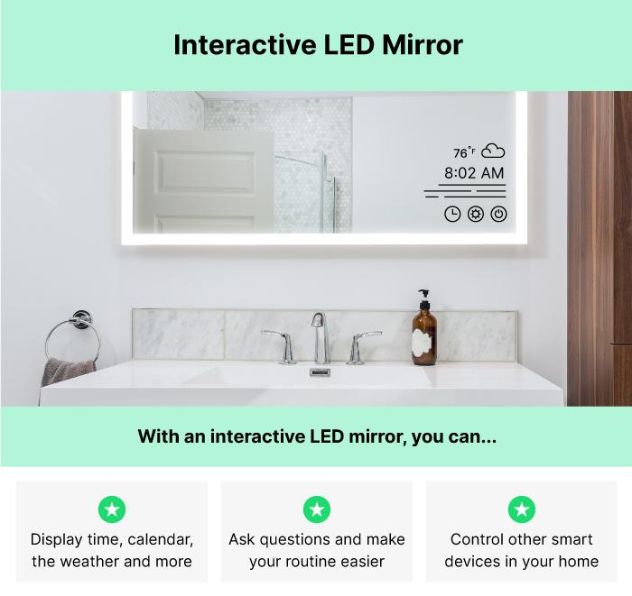 Interactive LED Mirror