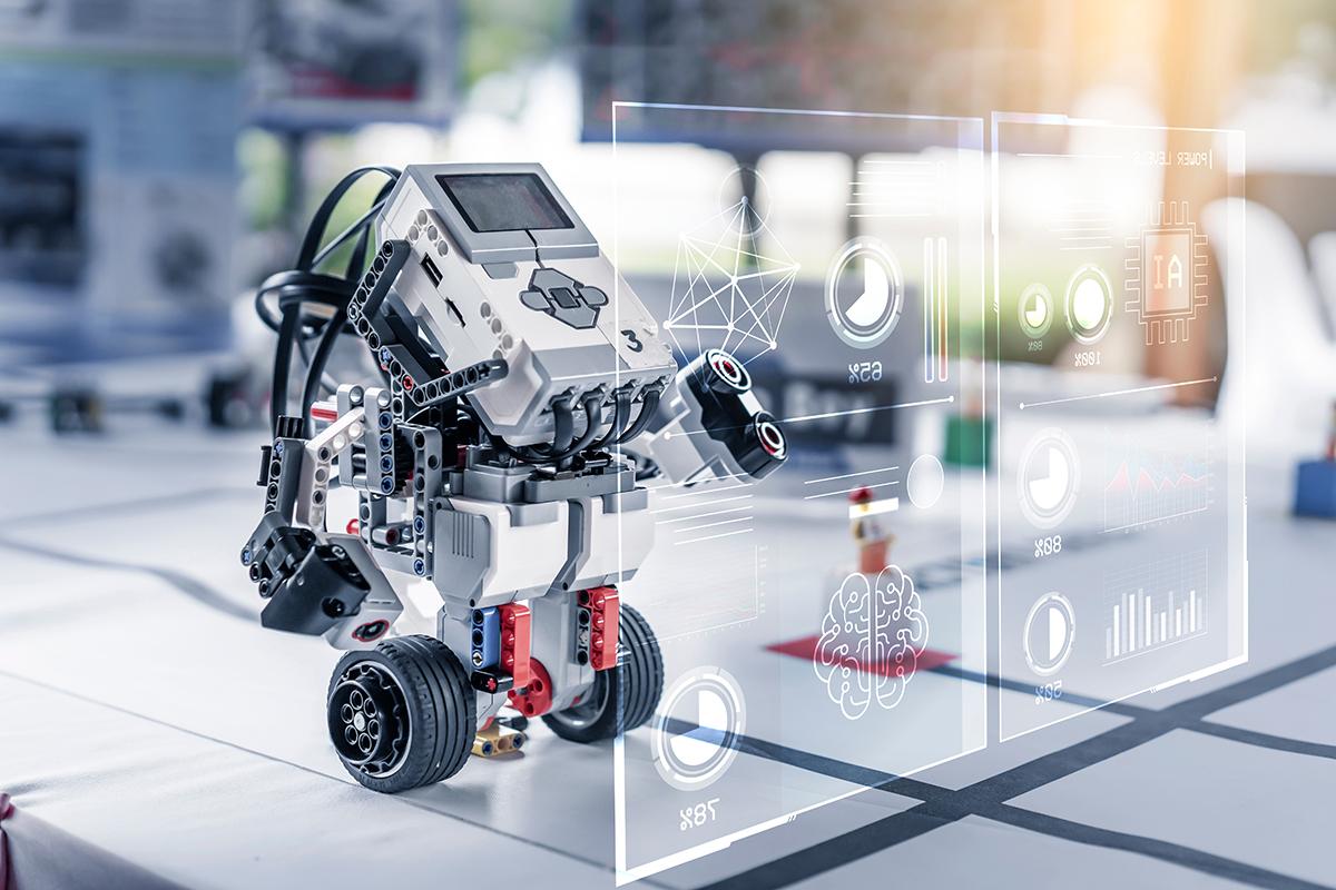 Smart Toy Robot Lego